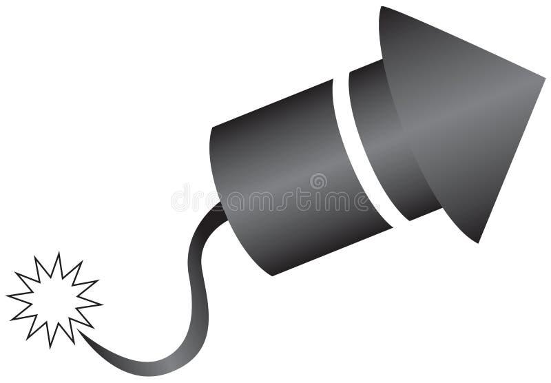 Symbol von Krachern stock abbildung