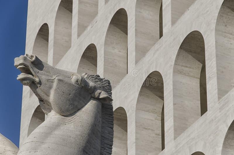 Symbol von Rom stockbilder