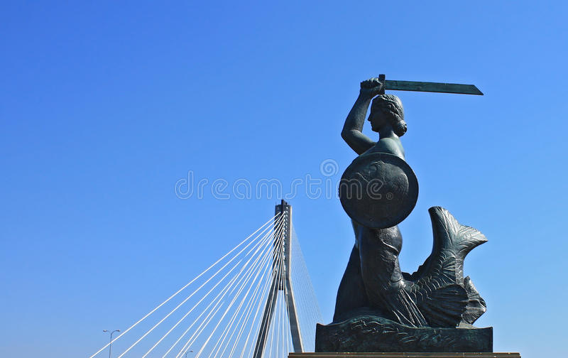 symbol Warsaw zdjęcie stock