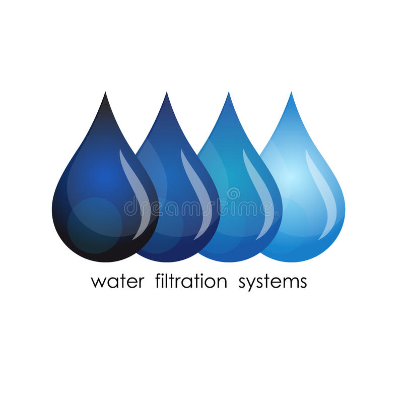 Symbol Of Water Purification Stock Vector Illustration Of Liquid