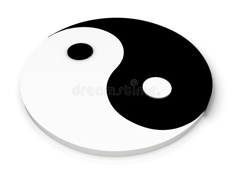 symbol Yan royalty ilustracja
