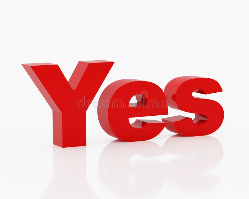 Download Symbol Yes Royalty Free Stock Photography - Image: 3998167