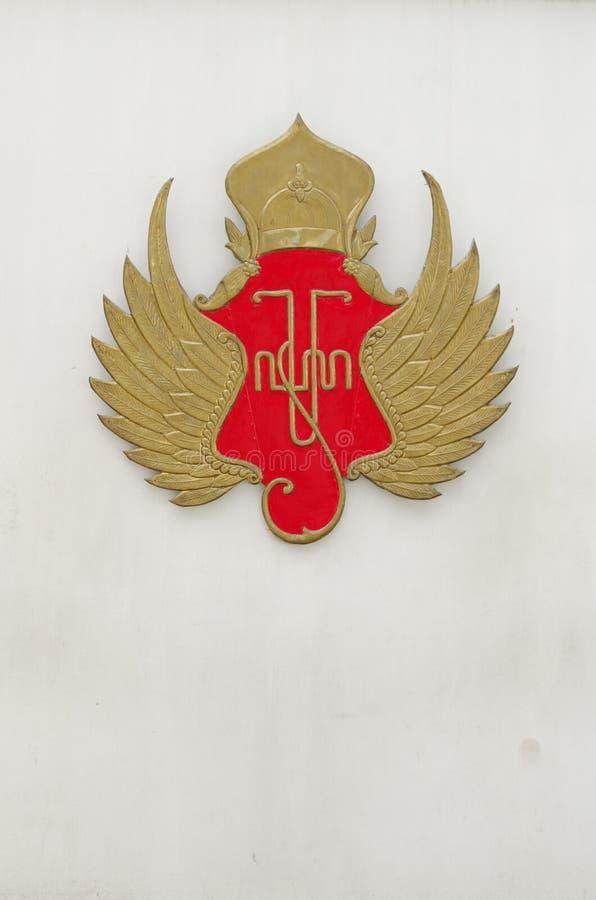 Symbol Yogyakarta sułtanat zdjęcia stock