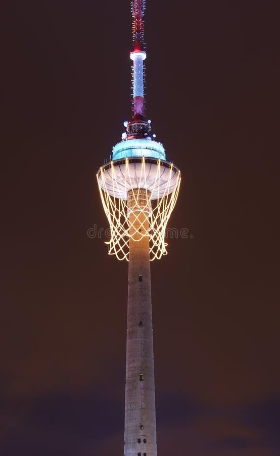 Symbole 2012 européen de basket-ball images stock