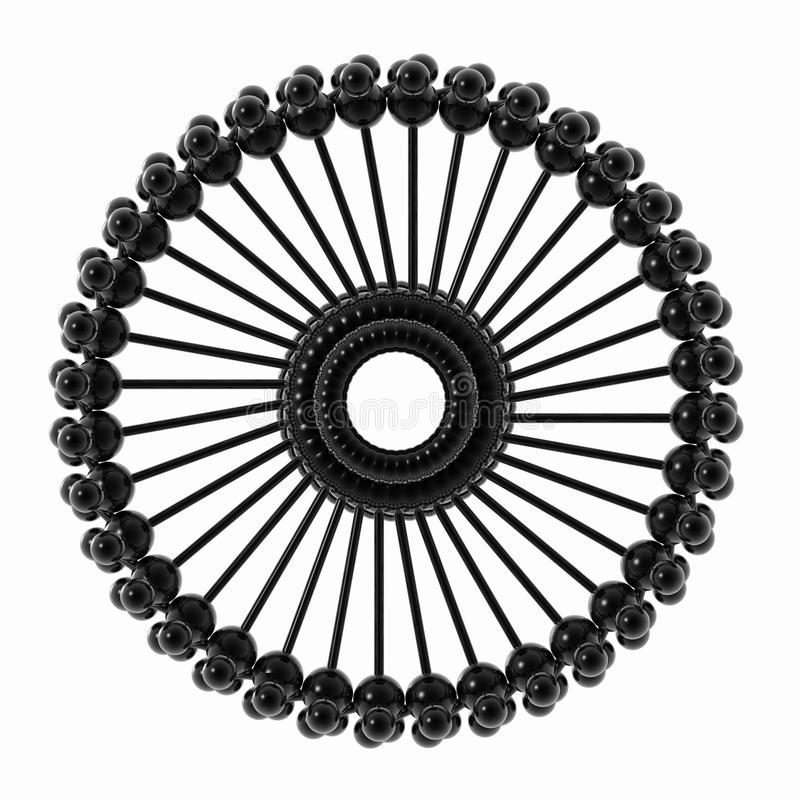 symbole abstrait illustration de vecteur