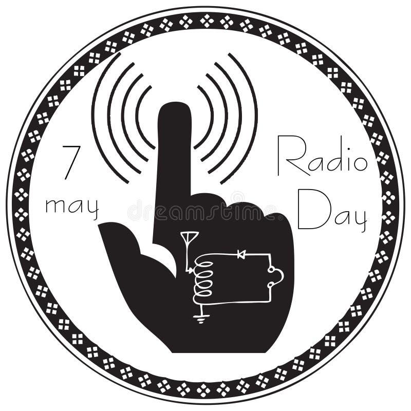 Download Symbole Abstrait Du Jour Par Radio Illustration de Vecteur - Illustration du concept, symbole: 87706822