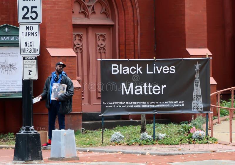 Symbole Black Lives Matt image libre de droits