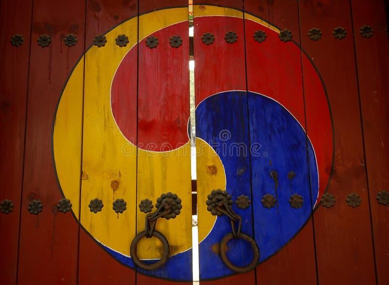 Symbole coréen traditionnel image stock