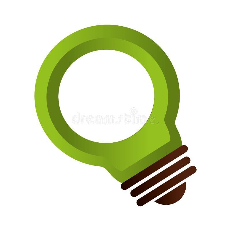 Download Symbole D'écologie De Lumière D'ampoule Illustration de Vecteur - Illustration du symbole, créateur: 87703512