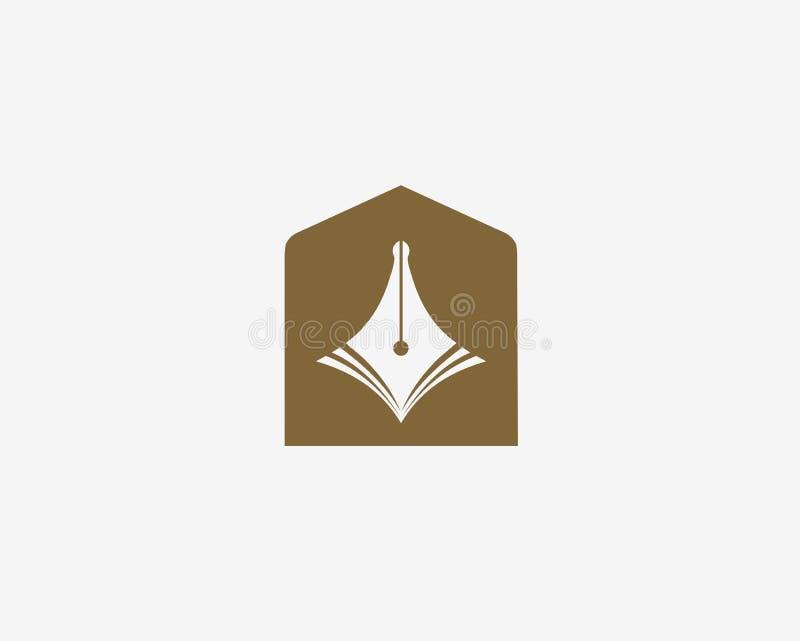 Symbole d'éducation Icône de stylo illustration de vecteur