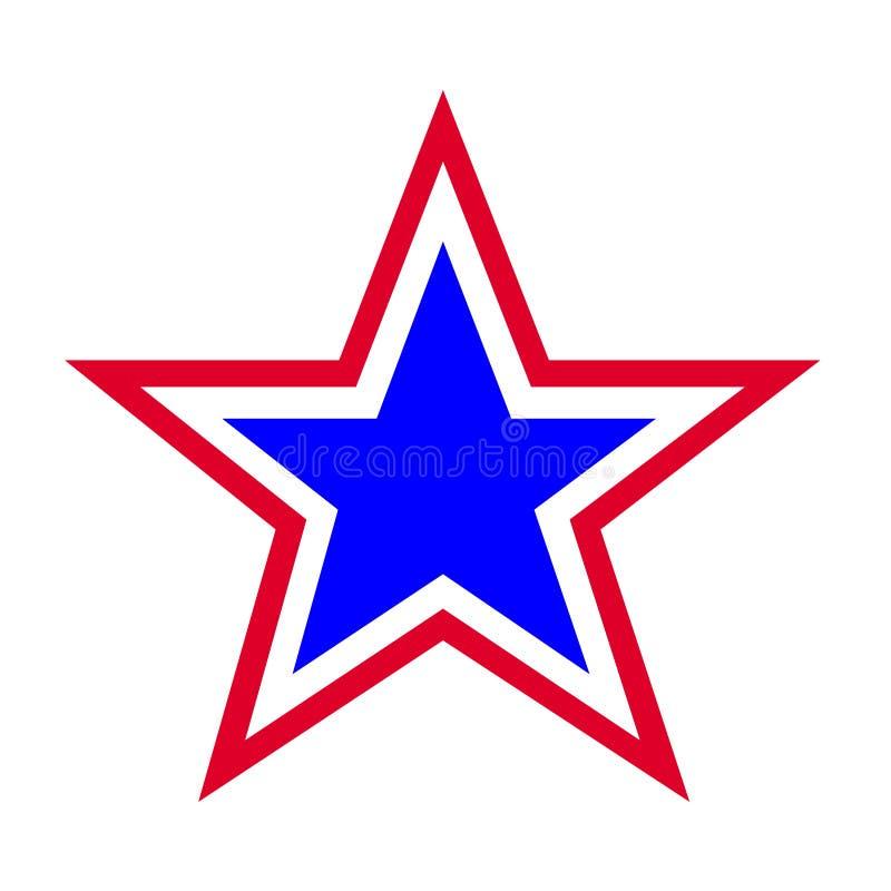 Symbole d'étoile illustration stock