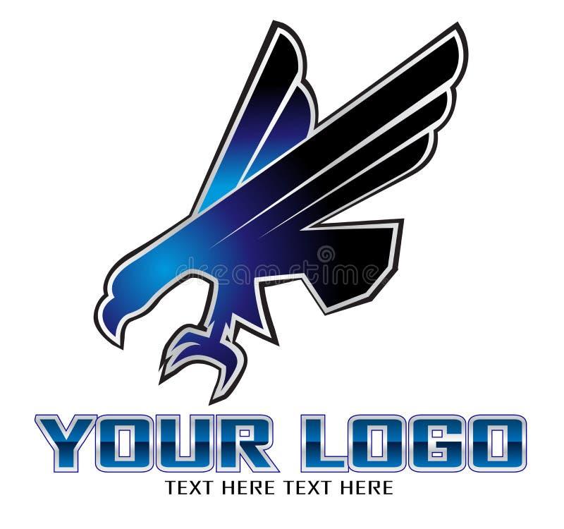 Symbole d'aigle illustration libre de droits