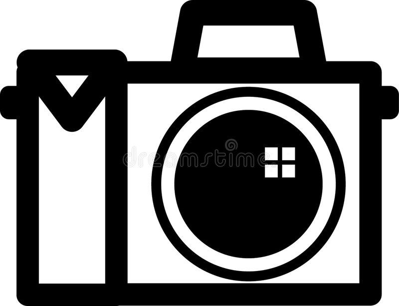 Symbole d'appareil-photo illustration stock
