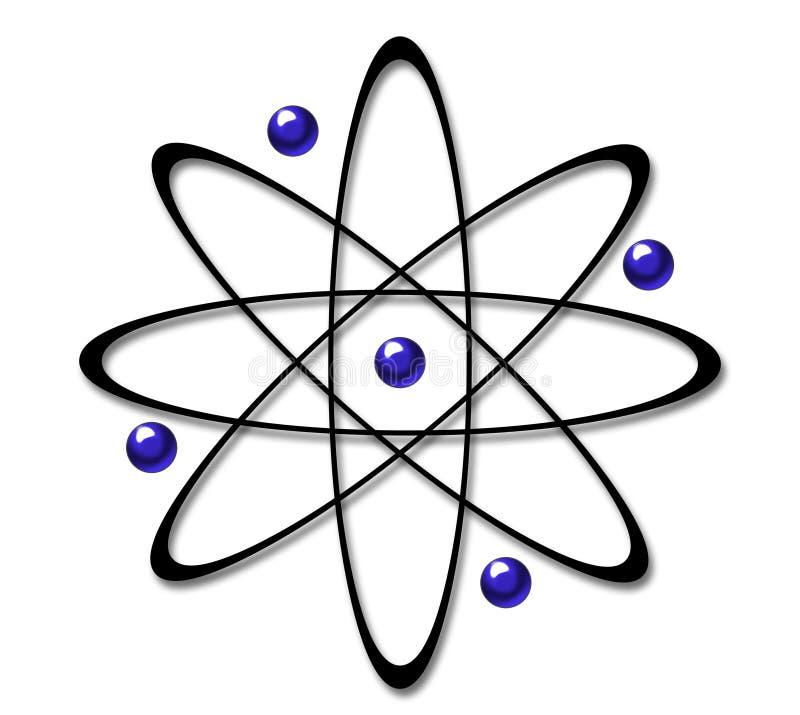 Symbole d'atome illustration libre de droits