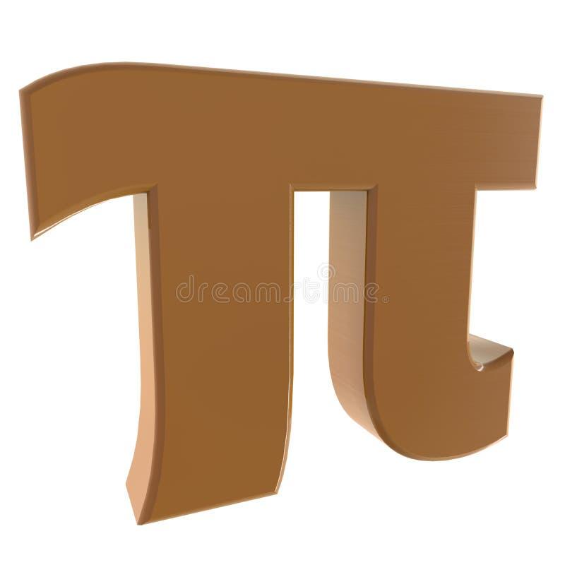 Pi Image libre de droits