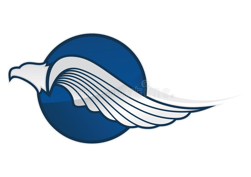 Symbole d'Eagle illustration de vecteur