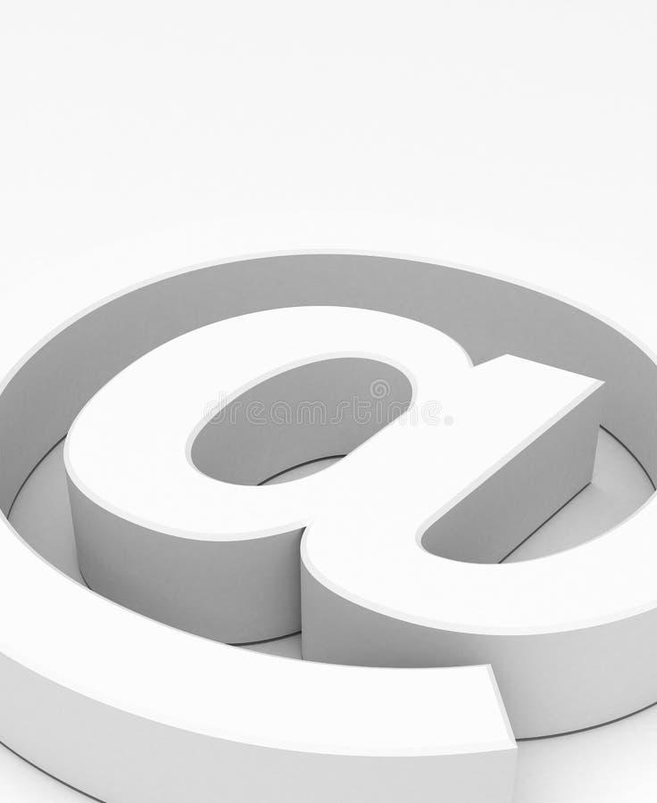 Symbole d'email illustration de vecteur