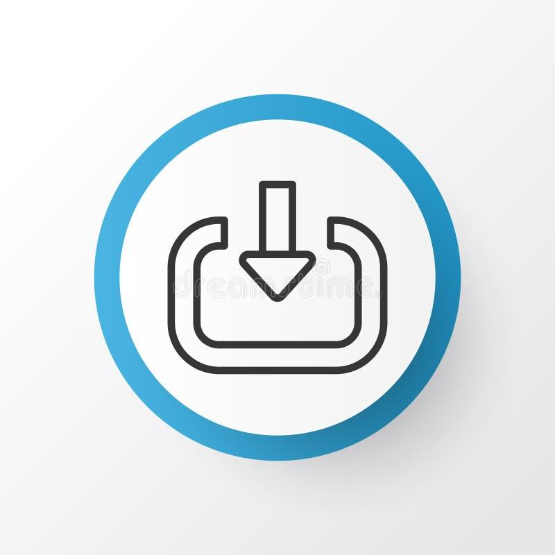 Symbole d'icône de login La qualité de la meilleure qualité d'isolement écrivent l'élément dans le style à la mode illustration de vecteur