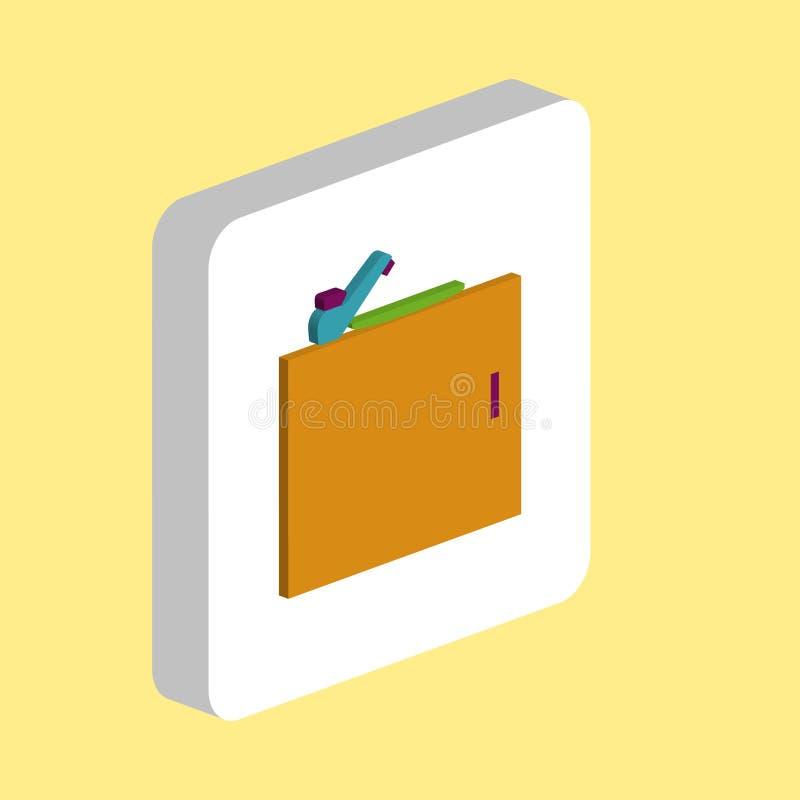 Symbole d'ordinateur d'évier de cuisine illustration libre de droits
