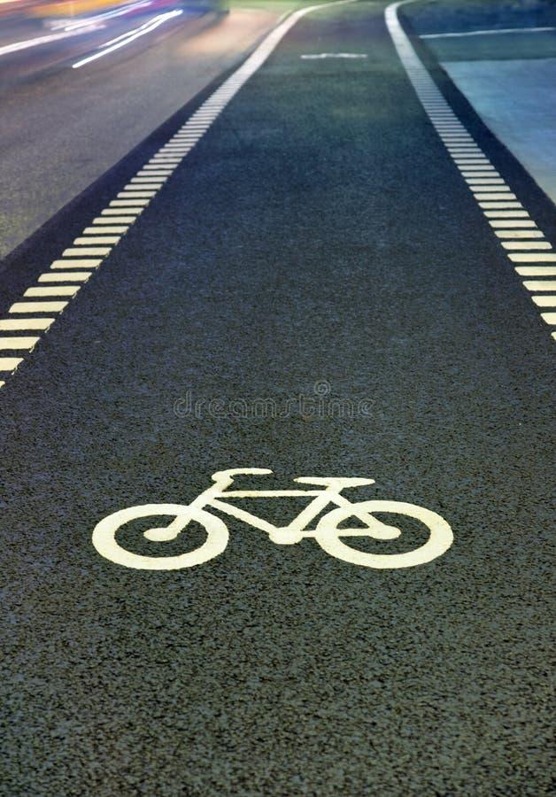 Symbole de bicyclette images stock