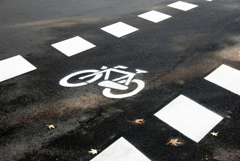 Symbole de bicyclette photographie stock libre de droits