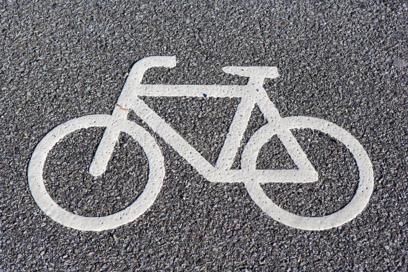 Symbole de bicyclette photo stock