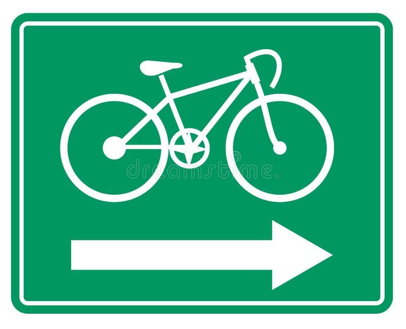 Symbole de bicyclette illustration libre de droits