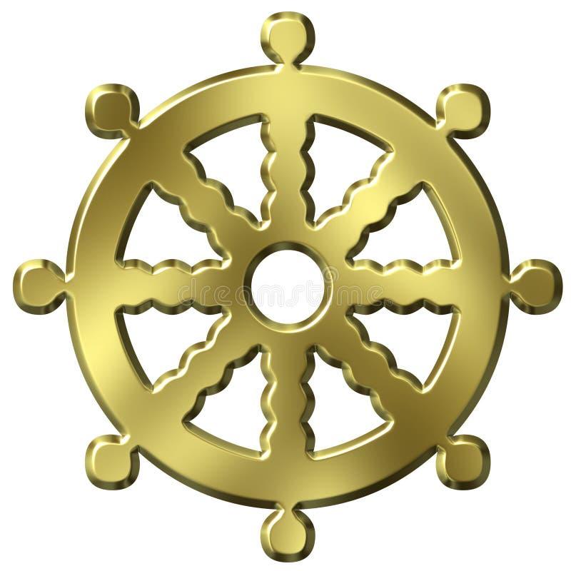 Symbole de bouddhisme illustration stock