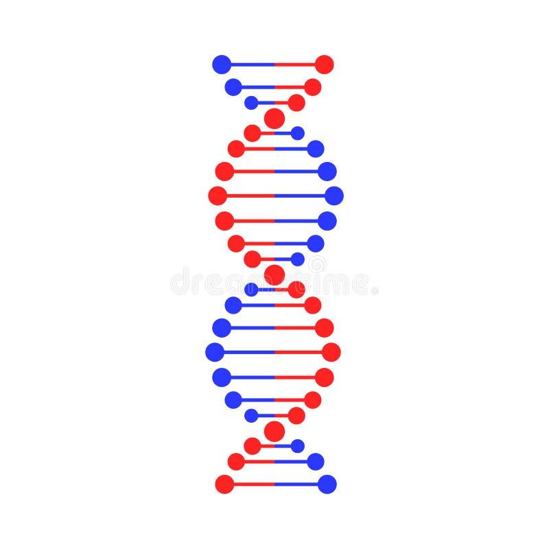 Symbole de brin d'ADN illustration de vecteur