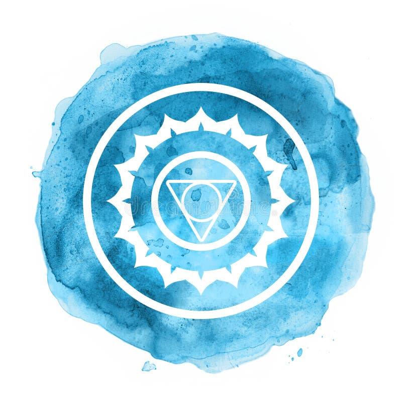 Symbole de Chakra illustration de vecteur
