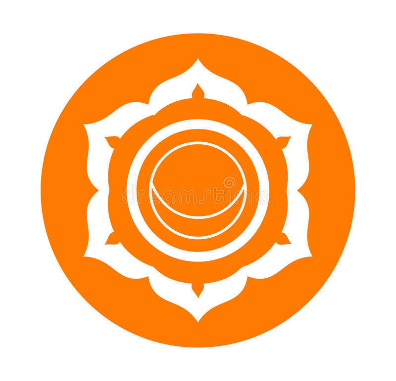 Symbole de Chakra illustration libre de droits