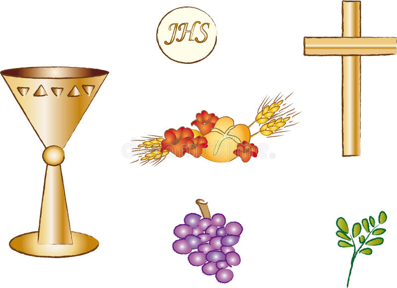 symbole de christianisme illustration stock
