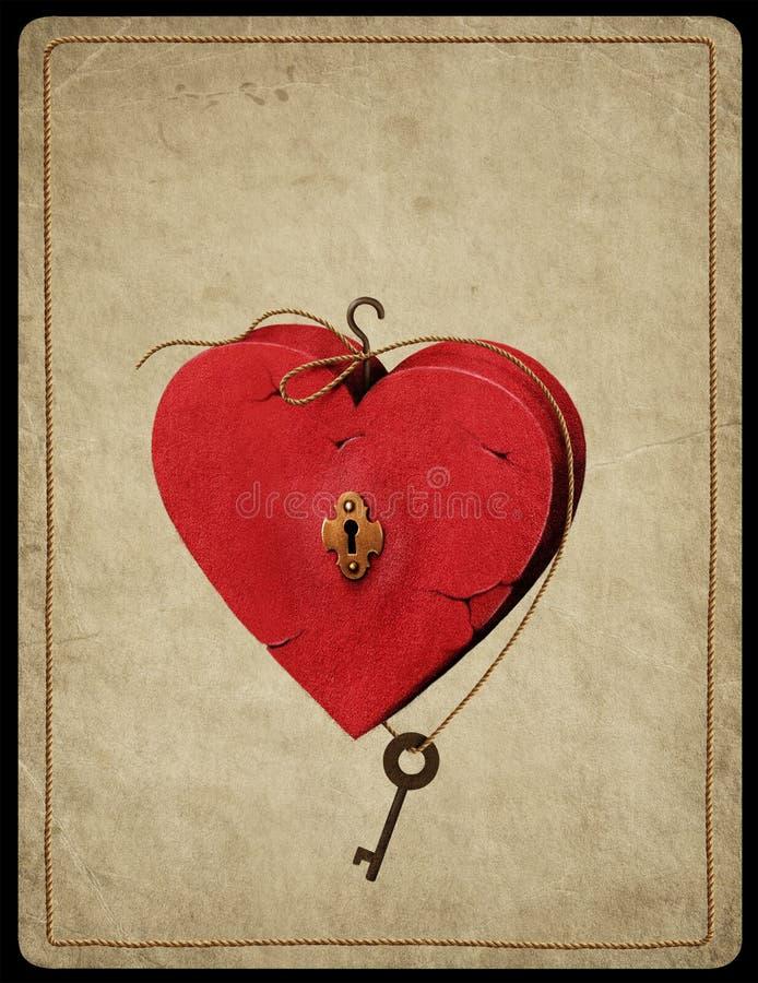 Symbole de coeur illustration libre de droits