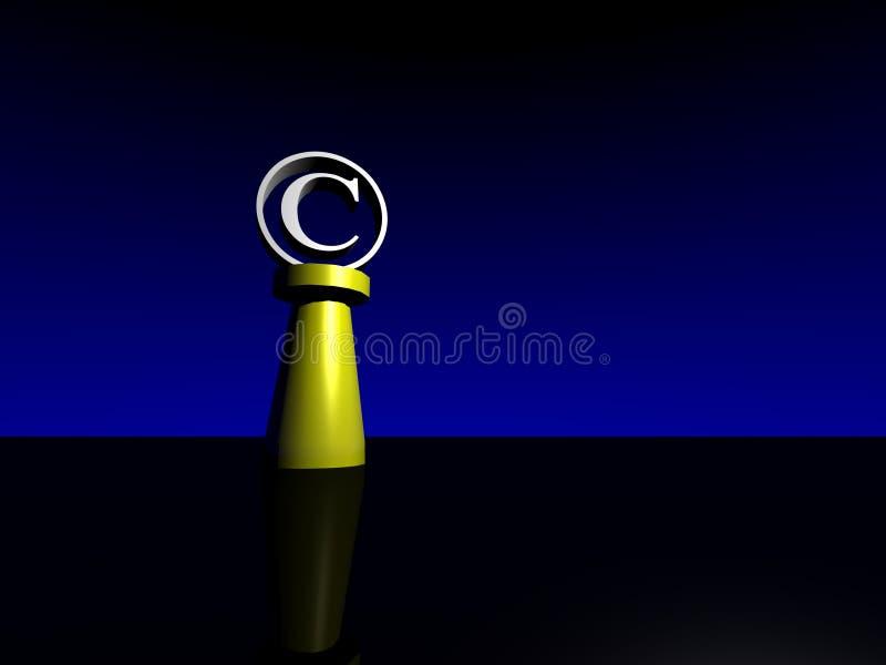 Symbole de copyright photo libre de droits