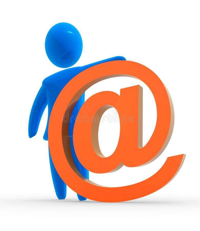 symbole de courrier illustration de vecteur
