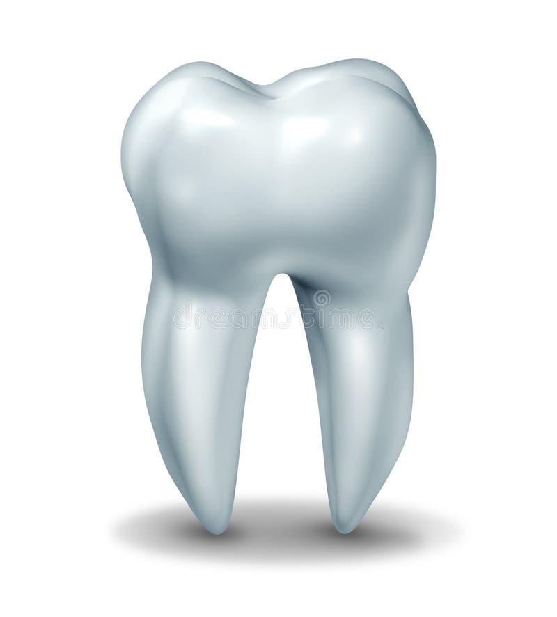 Symbole de dent de dentiste illustration de vecteur