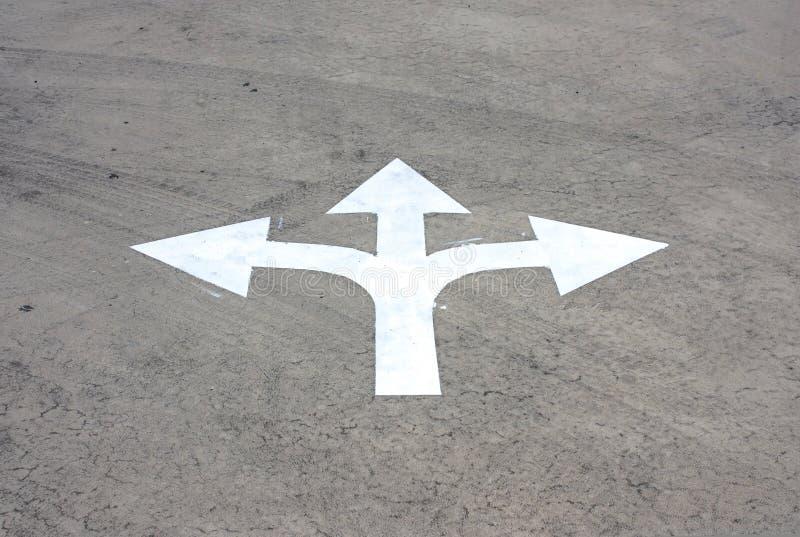 Symbole de flèche image stock