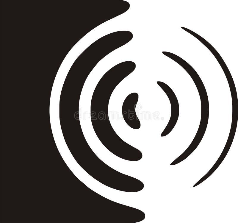 Symbole de haut-parleur illustration de vecteur