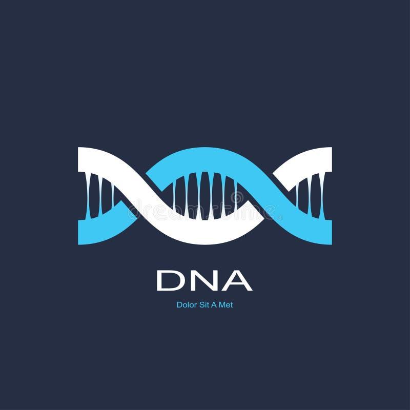 Symbole de l'ADN illustration de vecteur