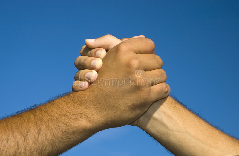 Symbole de l'amitié photo libre de droits