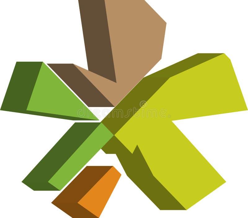 symbole de l'ASTÉRISQUE 3d illustration libre de droits