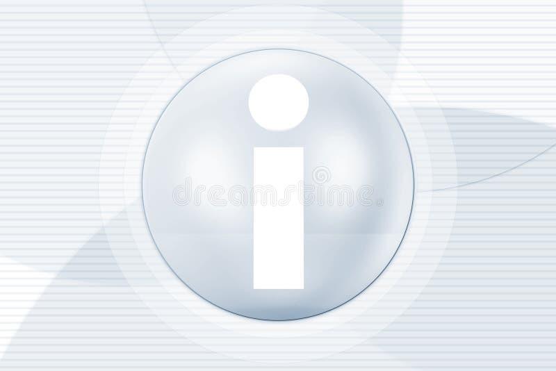 symbole de l'information illustration stock