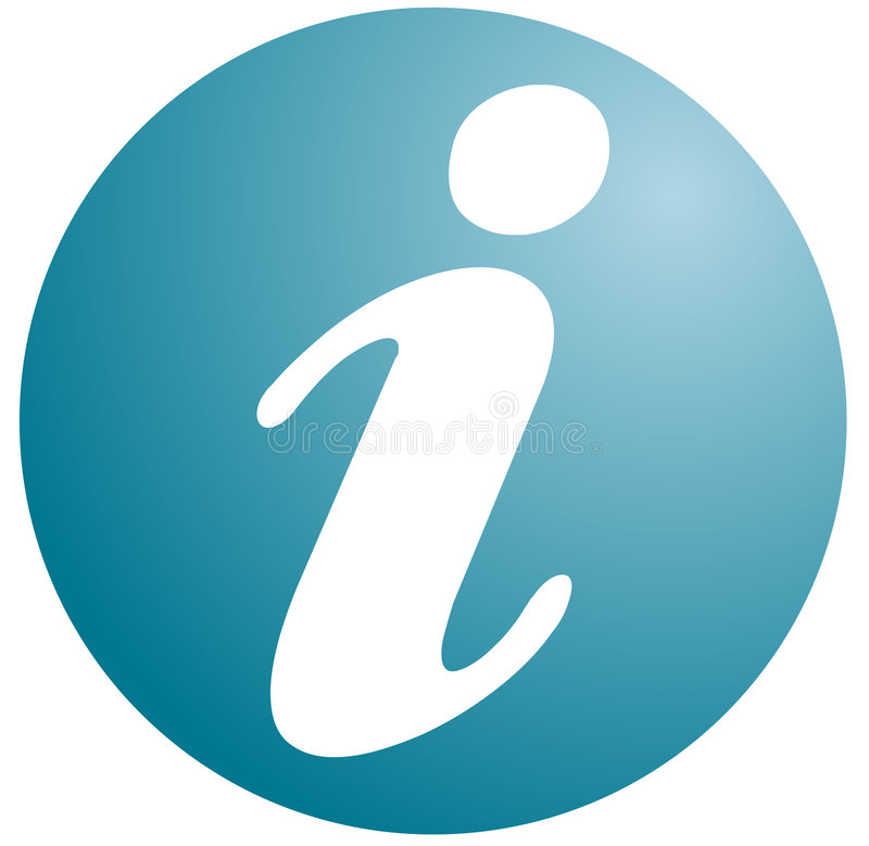 symbole de l'information illustration de vecteur