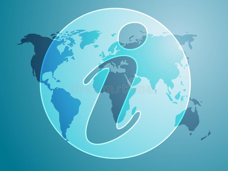 symbole de l'information illustration libre de droits
