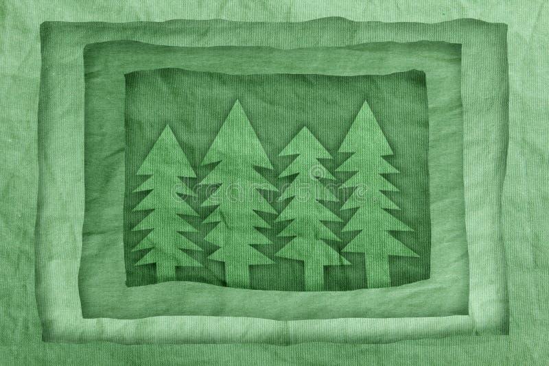 Symbole de la forêt photographie stock libre de droits