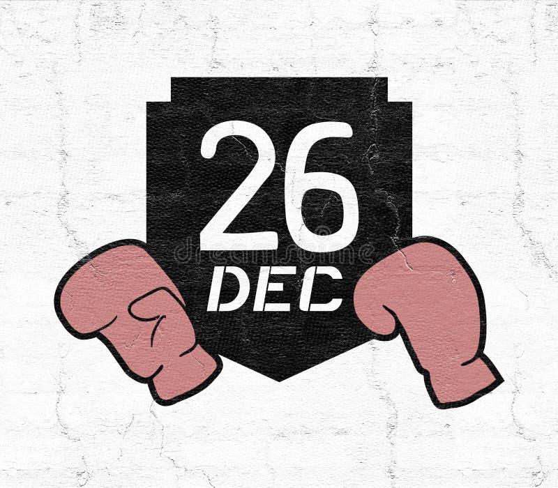 Symbole de lendemain de Noël illustration libre de droits