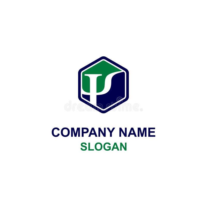 Symbole de livre par pouce carré/logo initial illustration de vecteur