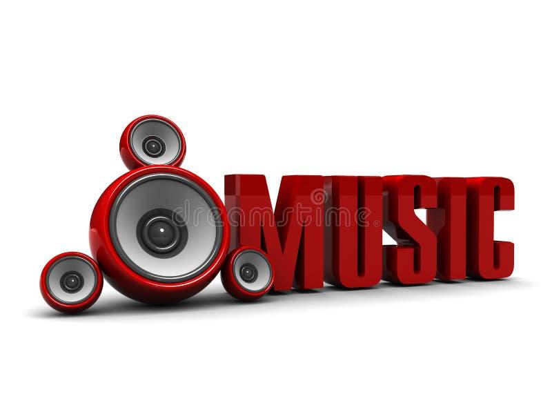 symbole de musique illustration libre de droits