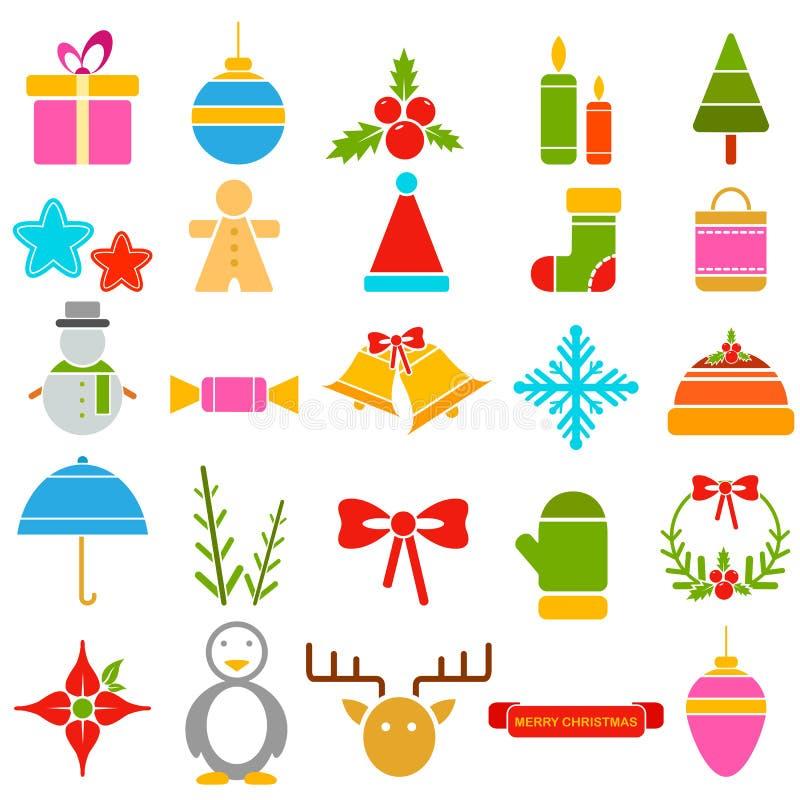 Symbole de Noël saint illustration de vecteur