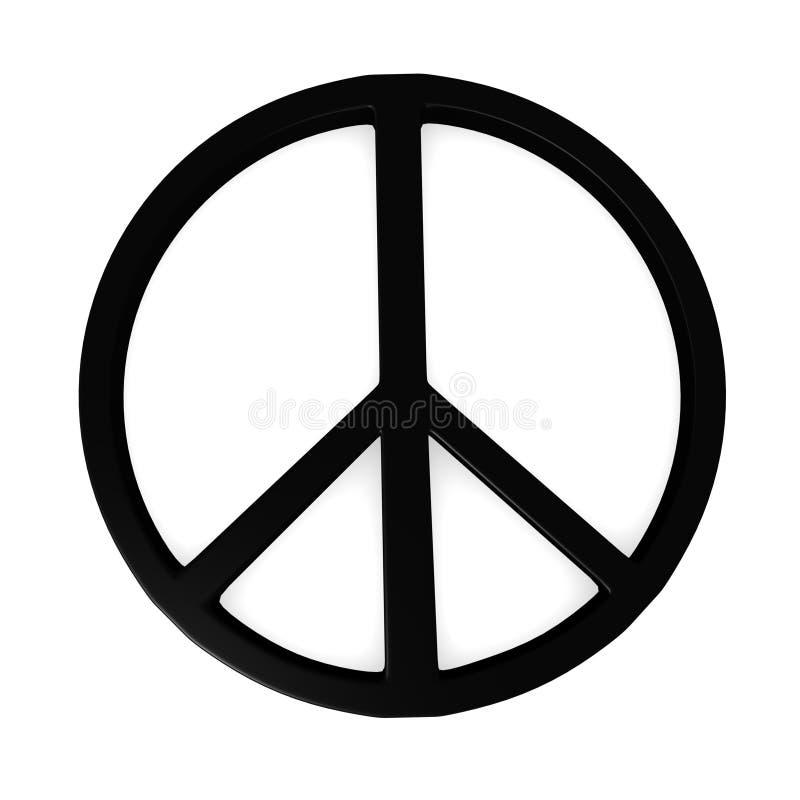 Symbole de paix illustration de vecteur